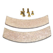 InMac-Kolstrand Replacement Brake Linings with Rivets - for Nylon Multi-Spool Gurdy