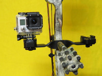 ATC Dually Camera Bracket with Two Holders for Go Pro Cameras