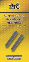 "1/2""Hex Extension 1/2"" Hex Nose Hoyt Bow Quiver Extension"