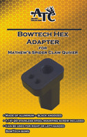 Bowtech Hex Adapter for Mathews Spider Claw Quiver