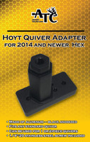 Hoyt Quiver Adapter for 2014-2017 Bows w/ Hex Receiver