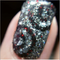 Macro shot - nail art using: Crown Jewels Of Enchantment with Embellishing Regina