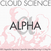 Alpha | Cloud Science by Teleos | 30ml 60ml & 120ml options