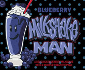 Blueberry Milkshake | Milkshake Man by Donuts E-Juice | 60ml (New Size!)