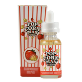 Strawberry Drizzle   Popcorn Man Liquids   30ml (Super Deal)