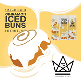 Cinnamon Iced Buns | Top Class Ejuice | 60ml