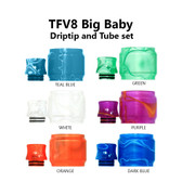 Replacement Tube & Driptip Set - For Smok TFV8 Big Baby