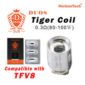 Duos Tiger Coil [3-pk] | Horizon Tech | 0.3ohm ( works with SMOK TFV8 )
