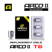 Arco II Coils T6  [3-pk] | Horizon Tech | 0.2ohm ( works with SMOK TFV8 )