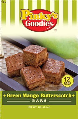 Pinky's Goodies Green Mango Butterscotch Bars
