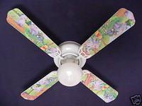 """New WINNIE POOH HEFFALUMP LUMPY EEYORE Ceiling Fan 42"""""""