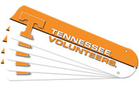 "New NCAA TENNESSEE VOLUNTEERS VOLS 42"" Ceiling Fan Blade Set"
