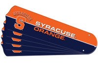 "New NCAA SYRACUSE ORANGE 42"" Ceiling Fan Blade Set"