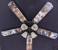 New MOTOCROSS DIRT BIKE MOTORCYCLES Ceiling Fan 52""
