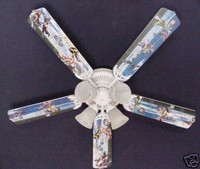 New MOTOCROSS X GAMES MOTORCYCLES Ceiling Fan 52""