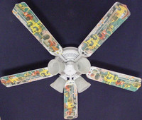 New CONSTRUCTION DUMP LOADER TRUCKS Ceiling Fan 52""