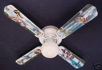 New MOTOCROSS X GAMES MOTORCYCLES Ceiling Fan 42""