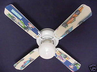 New INDY 500 FORMULA RACING CAR CARS Ceiling Fan 42""