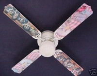 New MOTORCYCLES AMERICAN FLAG EAGLE Ceiling Fan 42""