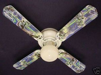 New MOTOCROSS KAWASAKI MOTORCYCLES Ceiling Fan 42""