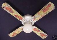 """New FIRE TRUCKS TRUCK Ceiling Fan 42"""""""