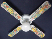 New CONSTRUCTION DUMP LOADER TRUCKS Ceiling Fan 42""