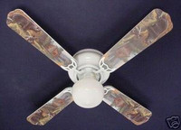 New BLACK BEAR LOG CABIN WILDERNESS Ceiling Fan 42""