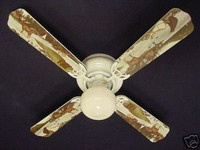 New BEAR MOOSE CABIN FISHING WILDERNESS Ceiling Fan 42""