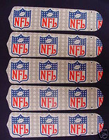 "New NFL NATIONAL LEAGUE 52"" Ceiling Fan BLADES ONLY"