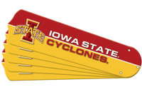 "New NCAA IOWA STATE CYCLONES 42"" Ceiling Fan Blade Set"