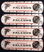 "New NFL ATLANTA FALCONS 42"" Ceiling Fan BLADES ONLY"
