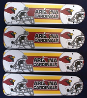 "New NFL ARIZONA CARDINALS 42"" Ceiling Fan BLADES ONLY"