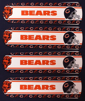 "New NFL CHICAGO BEARS 42"" Ceiling Fan BLADES ONLY"