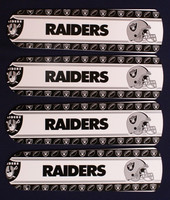 "New NFL OAKLAND RAIDERS 42"" Ceiling Fan BLADES ONLY"