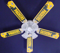 New NFL GREEN BAY PACKERS FOOTBALL Ceiling Fan 52""
