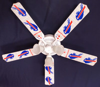 New NFL BUFFALO BILLS FOOTBALL Ceiling Fan 52""