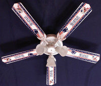 New NFL NEW ENGLAND PATRIOTS FOOTBALL Ceiling Fan 52""