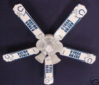 New NFL INDIANAPOLIS COLTS FOOTBALL Ceiling Fan 52""