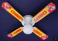 New NFL KANSAS CITY CHIEFS Ceiling Fan 42""