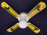 New NFL GREEN BAY PACKERS FOOTBALL Ceiling Fan 42""