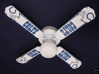 """New NFL INDIANAPOLIS COLTS FOOTBALL Ceiling Fan 42"""""""