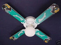 New NFL JACKSONVILLE JAGUARS FOOTBALL Ceiling Fan 42""