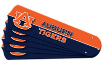 "New NCAA AUBURN TIGERS  42"" Ceiling Fan Blade Set"