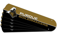 "New NCAA PURDUE BOILERMAKERS 52"" Ceiling Fan Blade Set"