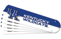 "New NCAA KENTUCKY WILDCATS 52"" Ceiling Fan Blade Set"