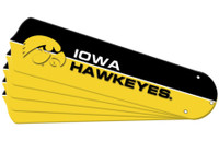 "New NCAA IOWA HAWKEYES 52"" Ceiling Fan Blade Set"