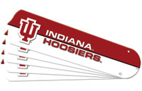 "New NCAA INDIANA HOOSIERS 52"" Ceiling Fan Blade Set"