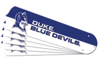 "New NCAA DUKE BLUE DEVILS 52"" Ceiling Fan Blade Set"