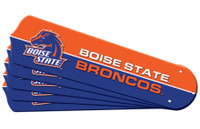 "New NCAA BOISE STATE BRONCOS 52"" Ceiling Fan Blade Set"