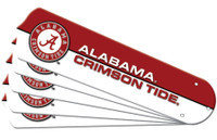 "New NCAA ALABAMA CRIMSON TIDE  52"" Ceiling Fan Blade Set"